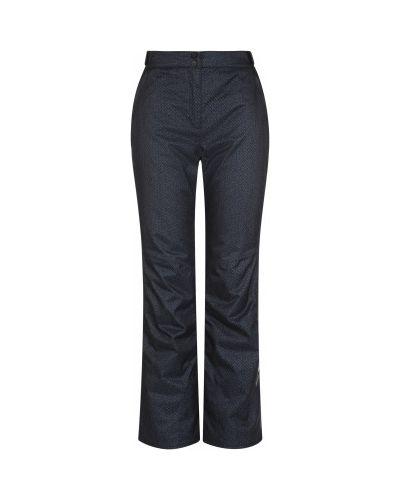 Прямые черные утепленные спортивные брюки Glissade