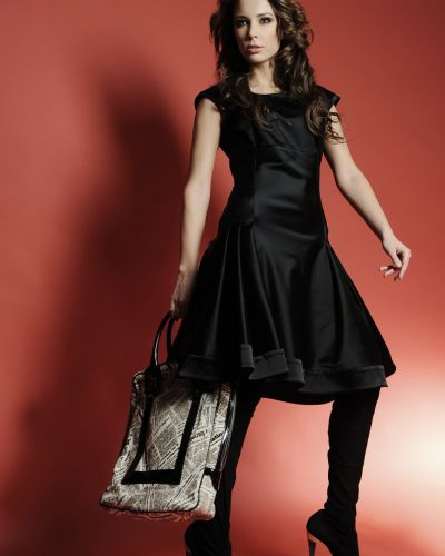 Платье - черное Golda