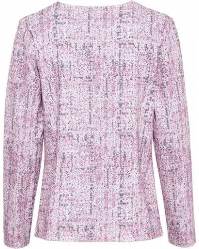 Трикотажный пиджак - розовый Bonprix