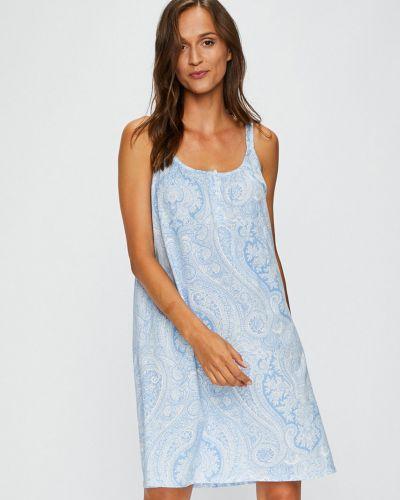 Голубая рубашка Lauren Ralph Lauren