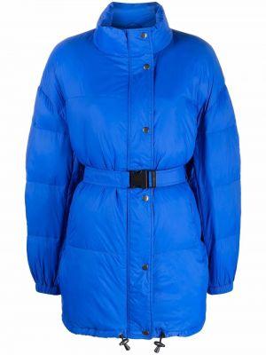Синее пальто длинное Isabel Marant étoile