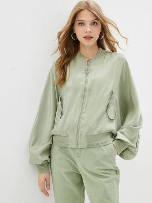 Зеленая джинсовая куртка Guess Jeans