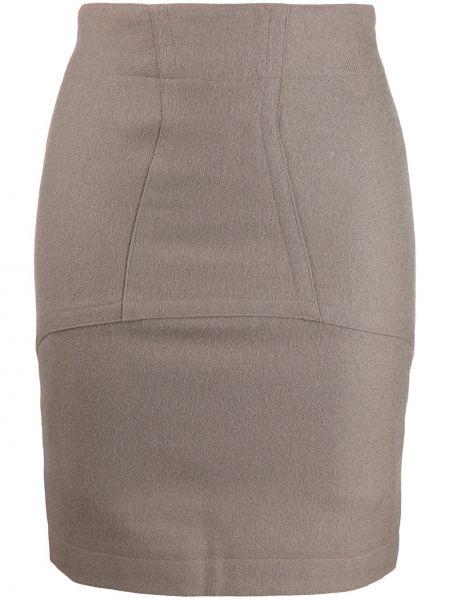 Плиссированная юбка мини с рукавом 3/4 Alaïa Pre-owned
