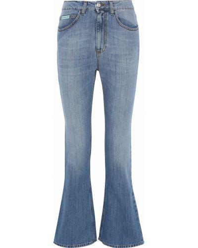 Niebieskie włoskie mom jeans Alexachung