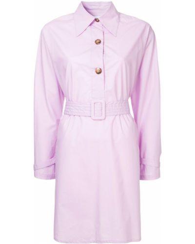 Фиолетовое платье Wynn Hamlyn