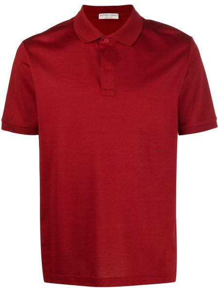 Koszula krótkie z krótkim rękawem klasyczna z logo Bottega Veneta