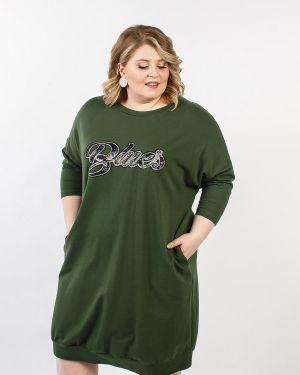 Платье платье-сарафан из футера Jetti-plus