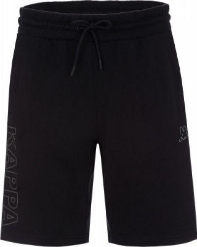 Спортивные шорты черные с карманами Kappa