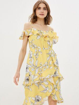 Желтый сарафан Trendyol