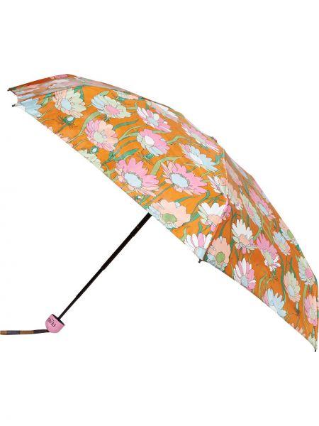 Parasol pomarańczowy Fendi
