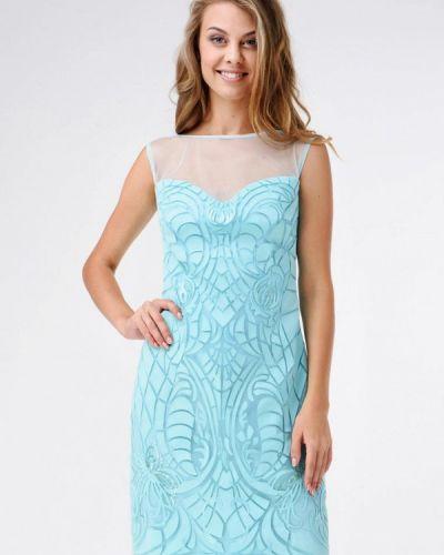 Бирюзовое вечернее платье Ricamare
