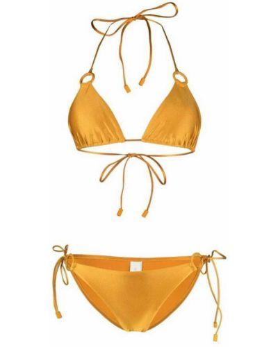 Żółty bikini Zimmermann