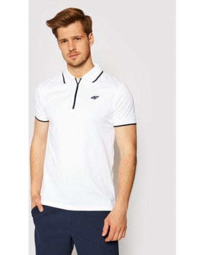 Biała koszulka 4f