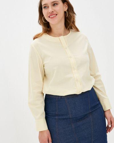 Желтая блузка с длинными рукавами Svesta