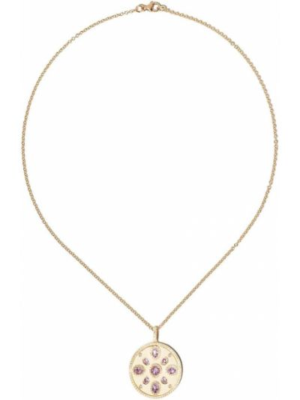 Желтое ожерелье с подвесками с бриллиантом Kiki Mcdonough