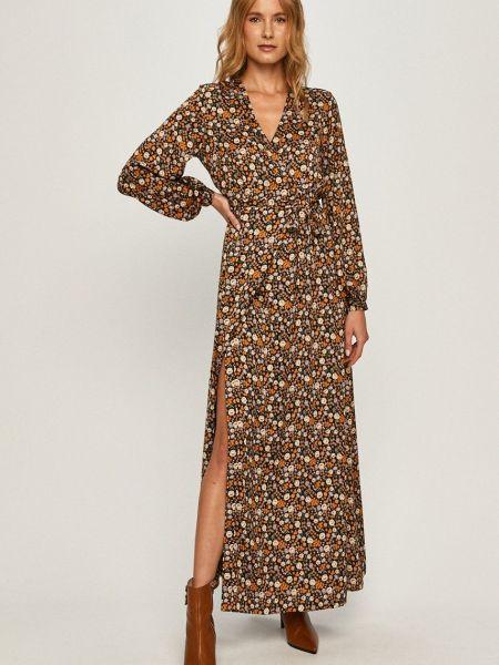 Платье с длинными рукавами с поясом Scotch & Soda