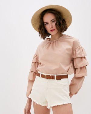 Блузка с длинным рукавом розовая весенний Miss Miss By Valentina