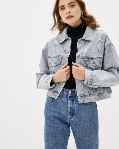 Джинсовая куртка - голубая Trendyangel