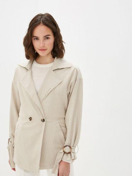 Бежевая облегченная куртка On Parle De Vous