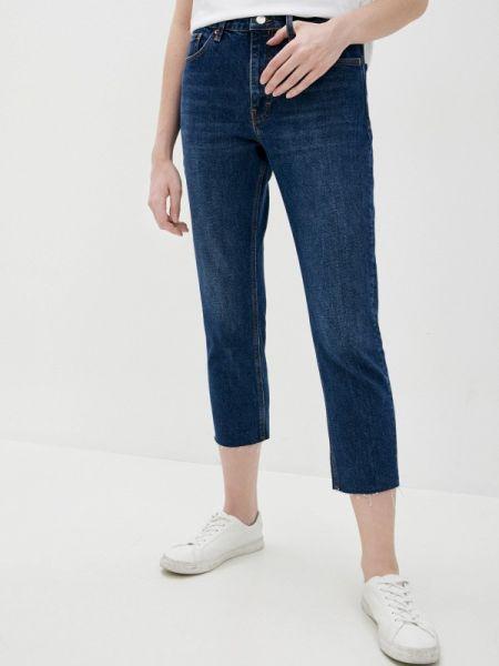 Зауженные джинсы - синие Topshop
