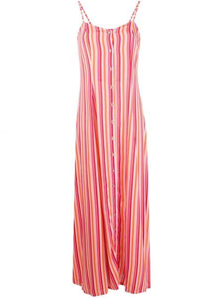 Sukienka w pasy z guzikami C'est La V.it