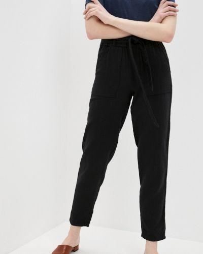 Зауженные черные брюки Marks & Spencer