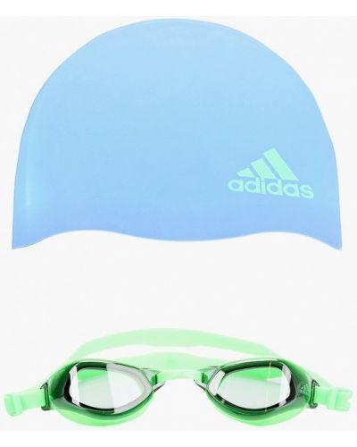 Зеленые очки Adidas