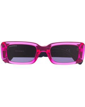 Прямые розовые солнцезащитные очки прямоугольные Converse