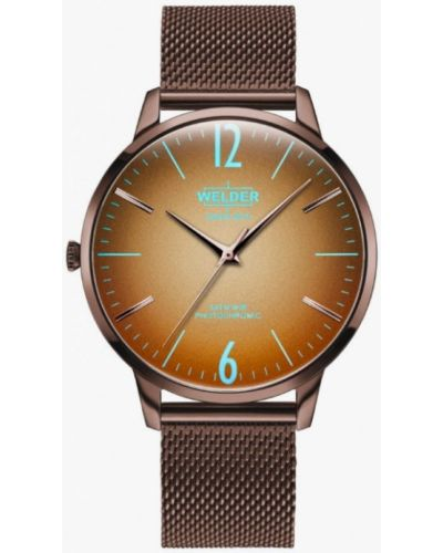 Коричневые часы Welder