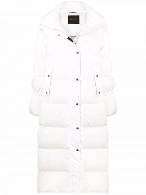 Куртка с капюшоном - белая Moorer