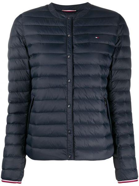 Стеганая куртка с вышивкой с карманами Tommy Hilfiger