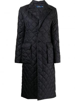 Стеганое полупальто - черное Polo Ralph Lauren