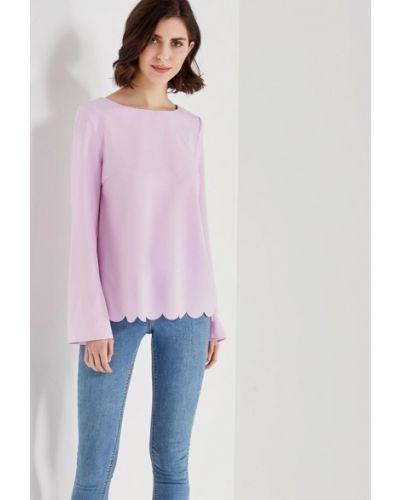 Фиолетовая блузка Zarina