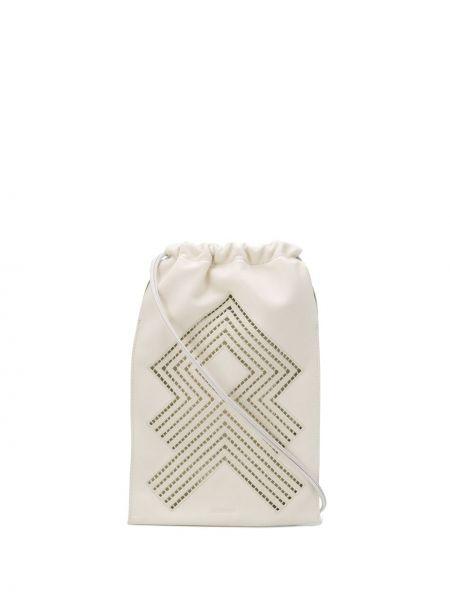 Сумка на плечо летняя песочный Jil Sander