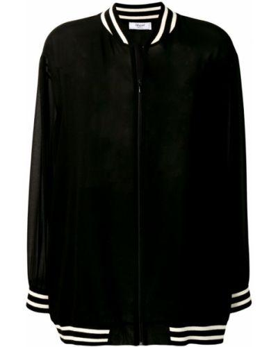 Черная куртка с манжетами Blugirl