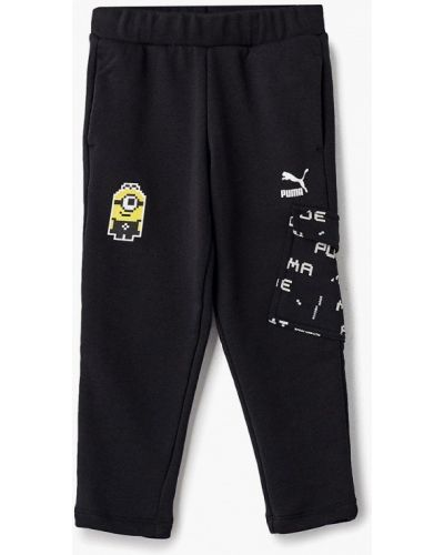 Черные брюки спортивные Puma