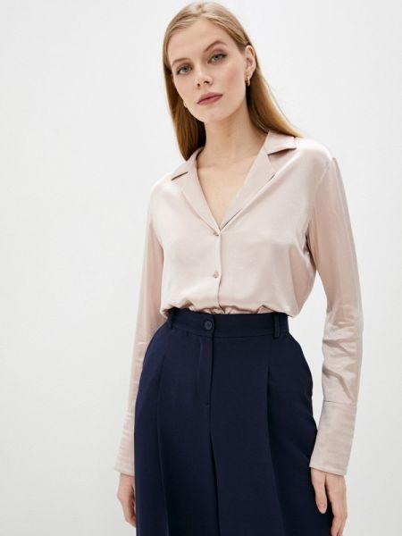 Розовая блузка с длинным рукавом Rivadu