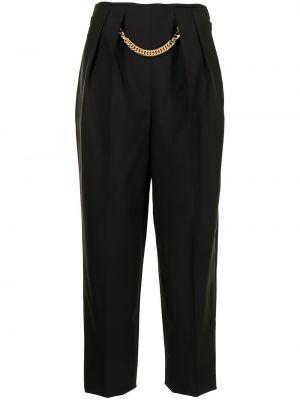 Шерстяные брюки - черные Ports 1961