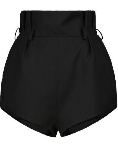Черные теплые шорты Alexandre Vauthier