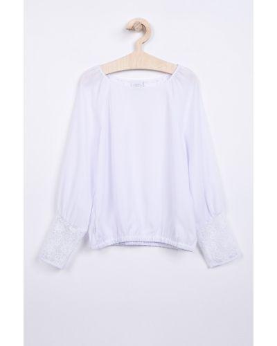 Блуза однотонная прямая Sly