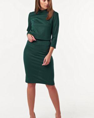Платье с поясом на молнии платье-сарафан Fly