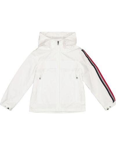 Biała kurtka Moncler Enfant