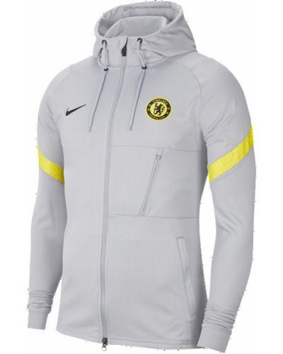 Серая куртка свободного кроя Nike