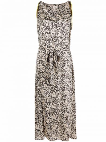 Платье с принтом из вискозы без рукавов Diega