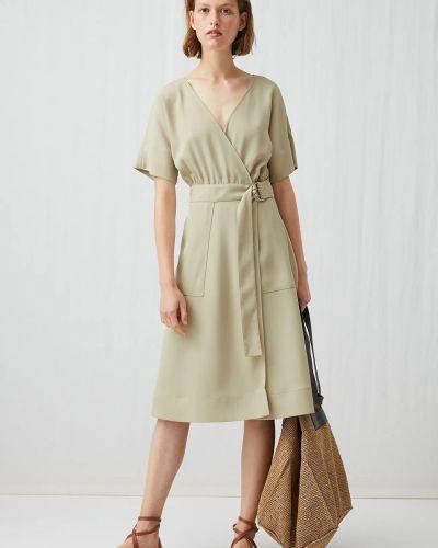 Платье с запахом Arket