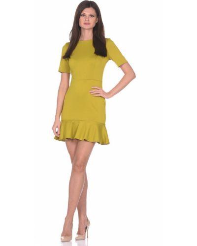 Коктейльное платье в полоску платье-сарафан Rosa Blanco