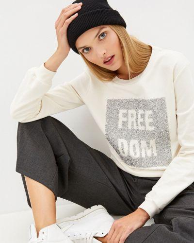 Джинсы mom белые Trussardi Jeans