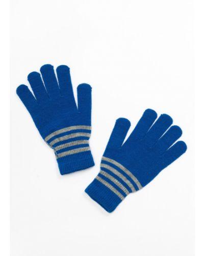 Синие перчатки акриловые Lemon Explore