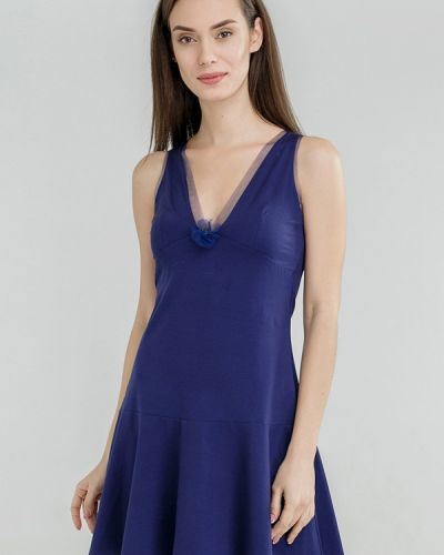 Рубашка синяя Ora