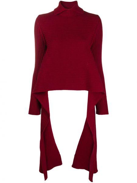 Рубашка с длинным рукавом - красная Rochas